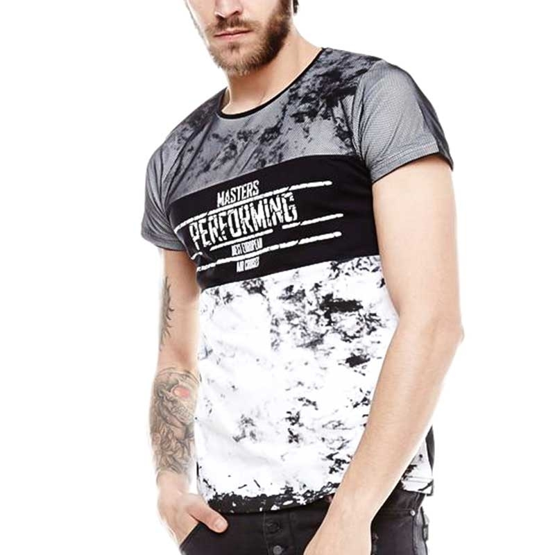 CARISMA T-SHIRT Regular MASTERS Style CRSM 4279 Party white