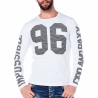 CIPO & BAXX SWEATSHIRT regular ADAM 96 Basic CL220 Street Wear white