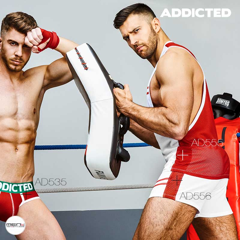 Boxes or kickboxes in the arena the functional clothing for the sport here the AD555