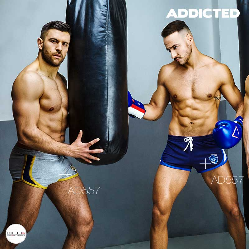 Shorts for every men's boxing match of Addicted AD557, lightweight, short and passable