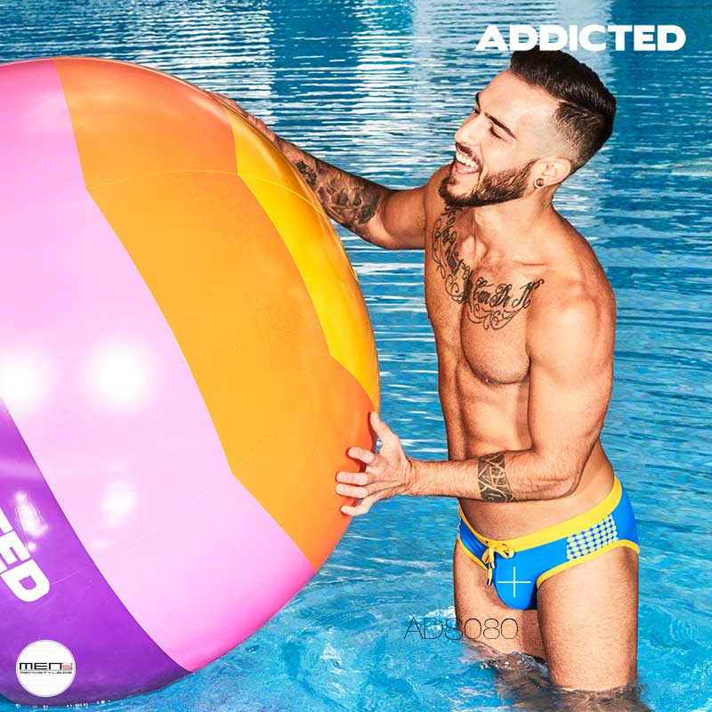 Addicted swimming bathing briefs for men and boys ADS080