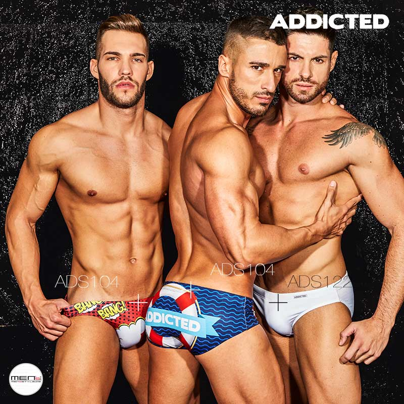 Addicted men's bathing season in the bathing slip, bathes or swim jock ADS104