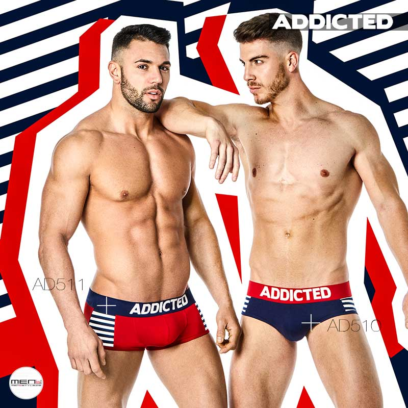 Addicted men's pants and panties for the basic of the current fashion style AD511 and AD510
