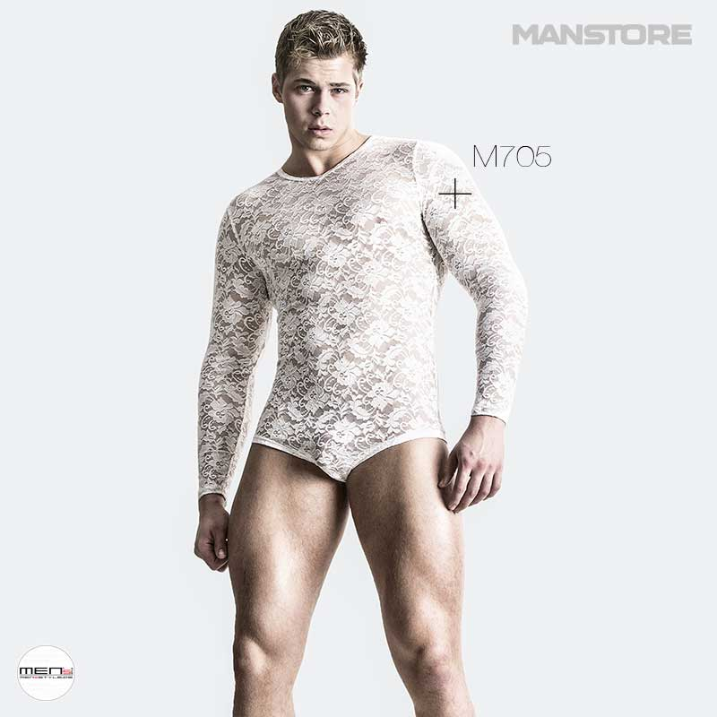 M705 series of manstore of the men's modemarke for the top boys. In Royal Blue or Snow White, packed in lace, each athletic men's body radiates as a star