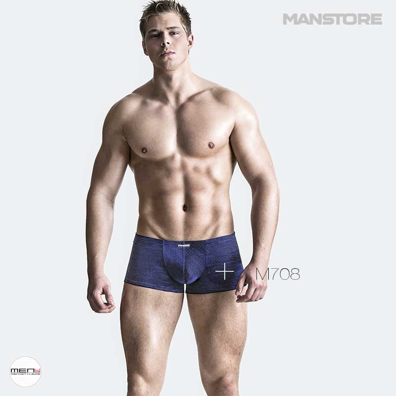 Manstore M708 Royal Blue Pants of the current men's collection. Underwear sits on man like the fast in some eye. Finest fabrics and perfectly cut on the body.
