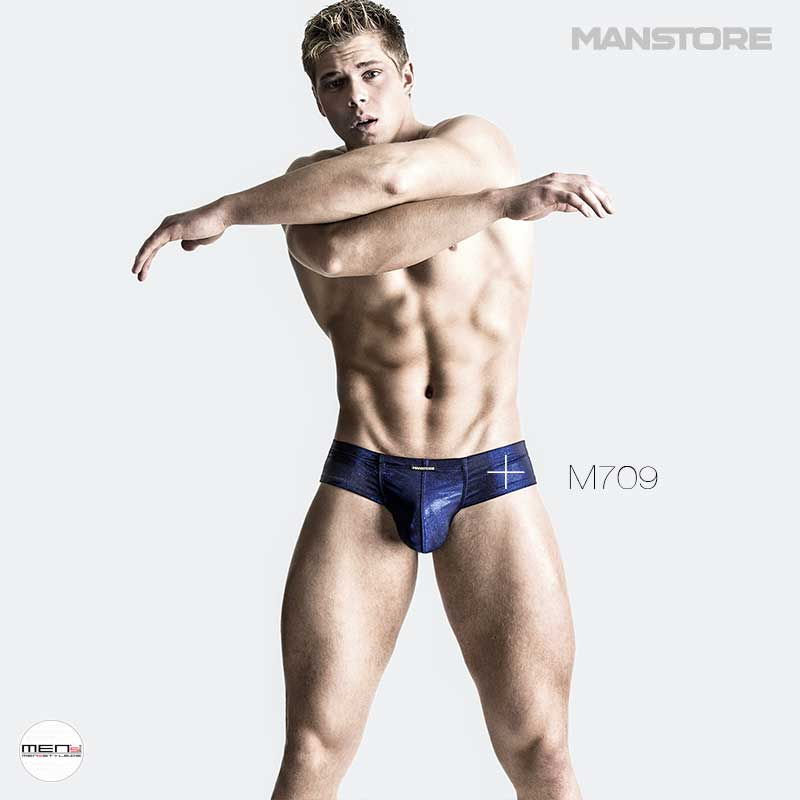 Manstore M709 as Gogo panty cut, light gloss brilliant cut encircled the perfect men's body. Well-being and doing a little strip in the evening drives away tired spirits.
